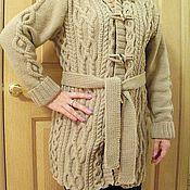 """Одежда ручной работы. Ярмарка Мастеров - ручная работа Вязаный кардиган """"Дюна"""". Handmade."""