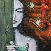 Картины и панно ручной работы. Ярмарка Мастеров - ручная работа Веди меня за ветром.... Handmade.
