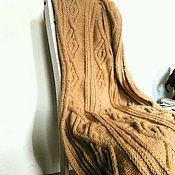 Для дома и интерьера ручной работы. Ярмарка Мастеров - ручная работа Вязаный плед. Handmade.