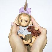 Куклы и игрушки ручной работы. Ярмарка Мастеров - ручная работа Обезьянка. Handmade.