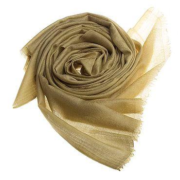 Аксессуары ручной работы. Ярмарка Мастеров - ручная работа Палантин из кашемира оливкового оттенка. Handmade.