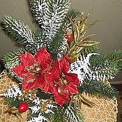 """Подарки к праздникам ручной работы. Ярмарка Мастеров - ручная работа Новогодняя подарочная композиция """"Праздник на столе"""". Handmade."""