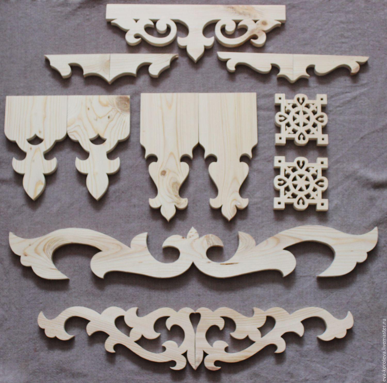Резной декор из дерева своими руками шаблоны 4