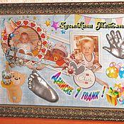 Подарки к праздникам ручной работы. Ярмарка Мастеров - ручная работа Слепки ножек-ладошек малышей. Handmade.