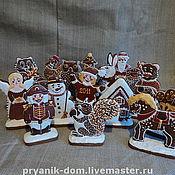 Сувениры и подарки ручной работы. Ярмарка Мастеров - ручная работа пряники на подставке. Handmade.