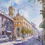 Картины и панно handmade. Livemaster - original item Oil painting Italian vacation. Handmade.