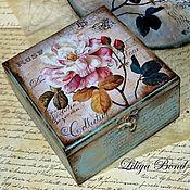 Для дома и интерьера handmade. Livemaster - original item Box-retro
