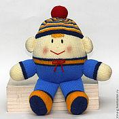 """Куклы и игрушки ручной работы. Ярмарка Мастеров - ручная работа вязаная игрушка """"Шалтай - болтай"""" (мальчик и девочка). Handmade."""