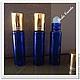 Упаковка ручной работы. Ярмарка Мастеров - ручная работа. Купить Роллер синий 10 мл (стекло). Handmade. Тёмно-синий