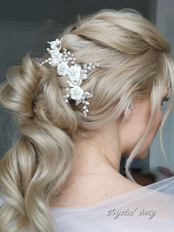 Гребень для прически невесты, Украшения в прическу, Москва,  Фото №1