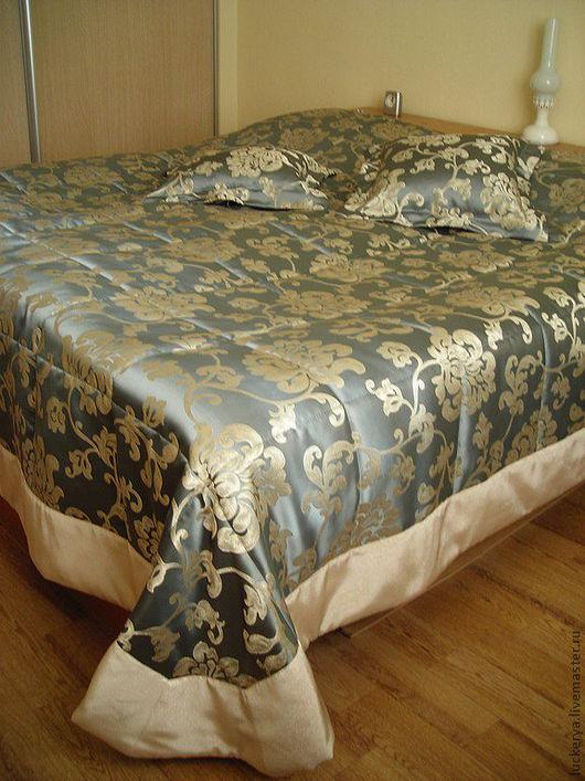 Текстиль, ковры ручной работы. Ярмарка Мастеров - ручная работа. Купить Покрывало для кровати Цветы в небесах. Handmade. Покрывало в спальню