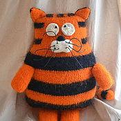 Куклы и игрушки ручной работы. Ярмарка Мастеров - ручная работа Кото-тигр Полосатик. Handmade.