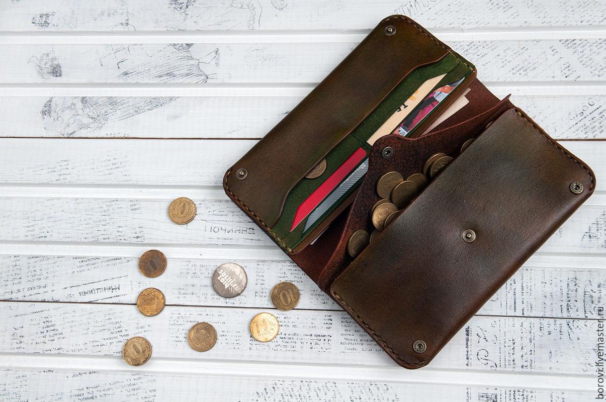 Purse genuine leather, Wallets, Mytishchi,  Фото №1