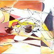 Картины и панно ручной работы. Ярмарка Мастеров - ручная работа Лучи. Handmade.