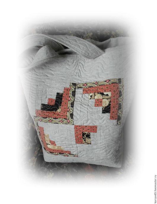 Женские сумки ручной работы. Ярмарка Мастеров - ручная работа. Купить Стеганая лоскутная сумочка Морской бриз. Handmade. Квилтинг