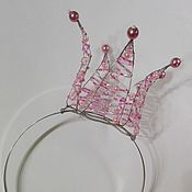 Работы для детей, ручной работы. Ярмарка Мастеров - ручная работа Корона для принцессы. Handmade.
