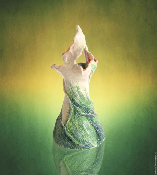 """Вазы ручной работы. Ярмарка Мастеров - ручная работа. Купить Ваза """"Цветок жизни"""". Handmade. Комбинированный, необычный подарок, Керамика"""