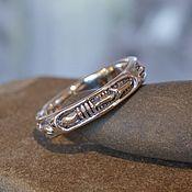 Украшения handmade. Livemaster - original item Copy of Biomech Reuleaux ring. Handmade.