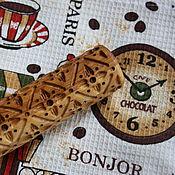 Для дома и интерьера handmade. Livemaster - original item Rolling pin pattern ornament. Handmade.