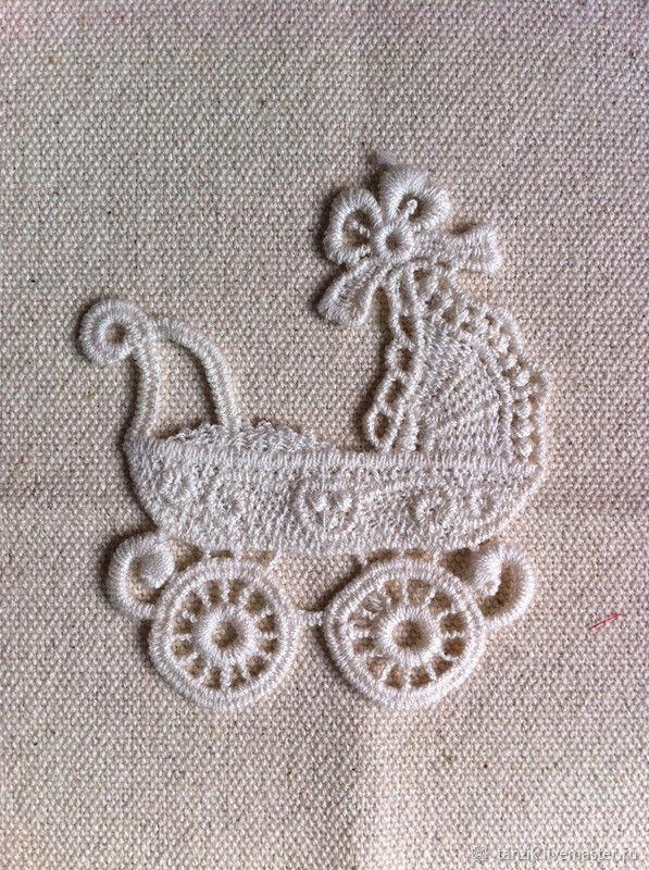 Колясочка - декоративный элемент, Аксессуары для вышивки, Краснодар,  Фото №1
