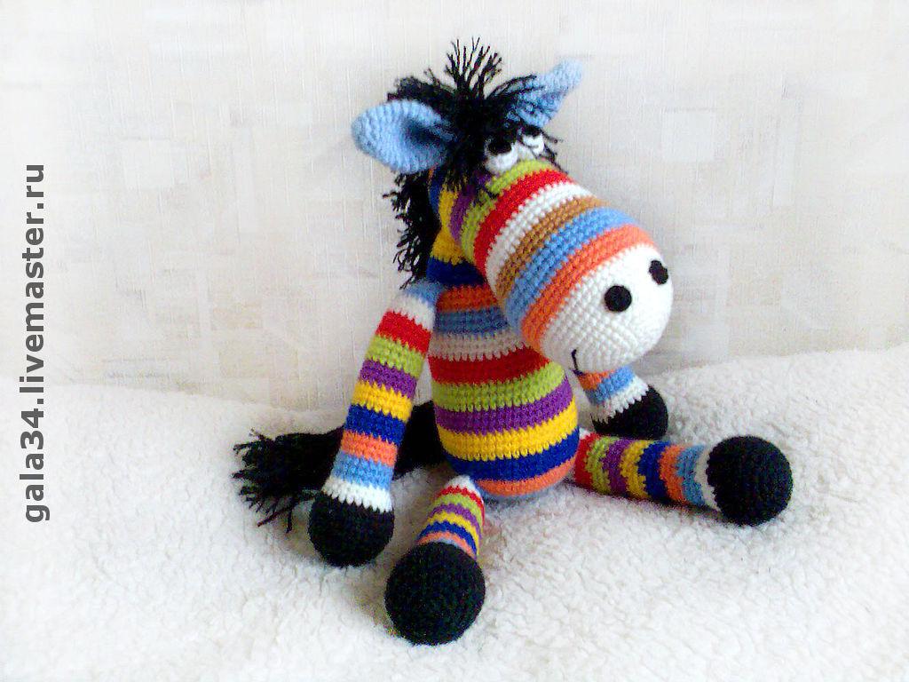 Rainbow horse (50cm), Stuffed Toys, Volgograd,  Фото №1