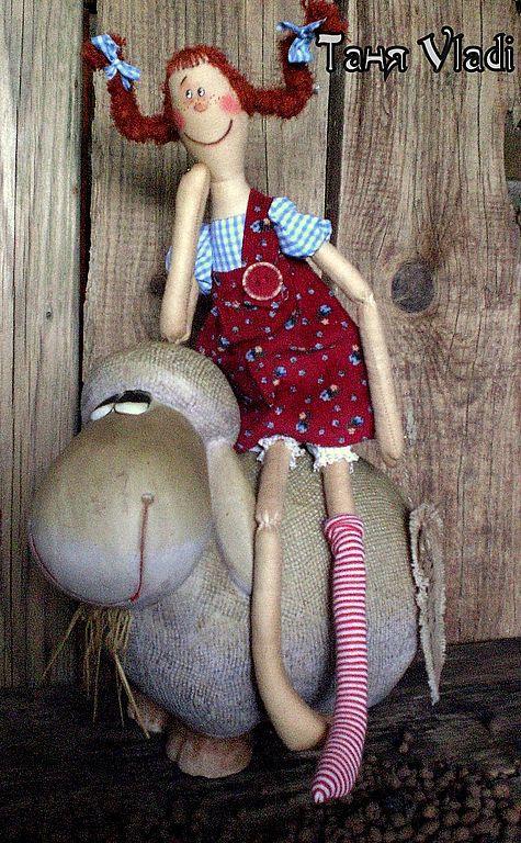 Ароматизированные куклы ручной работы. Ярмарка Мастеров - ручная работа. Купить Пеппи ДлинныйЧулок. Handmade. Пеппи, длинныйчулок, хлопок