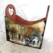 Для дома и интерьера ручной работы. Ярмарка Мастеров - ручная работа Короб Городские мотивы. Handmade.