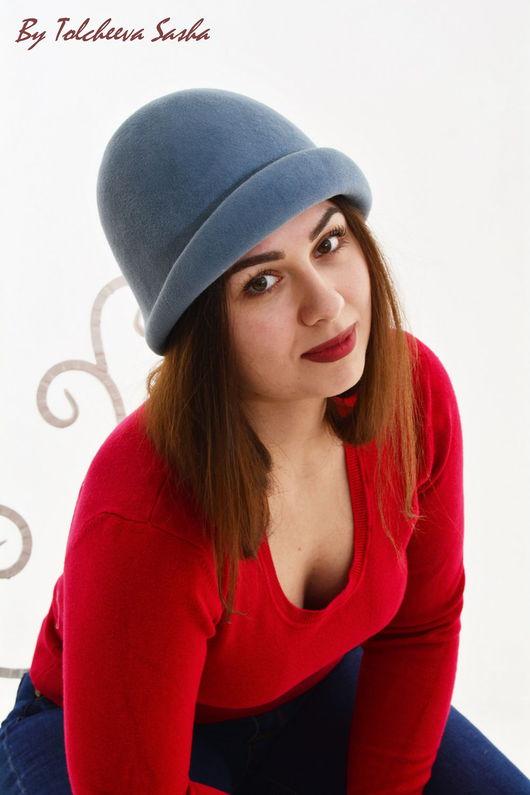 Шляпы ручной работы. Ярмарка Мастеров - ручная работа. Купить Серая  Шапонька. Handmade. Шляпка, купить шляпку, весенняя шапочка