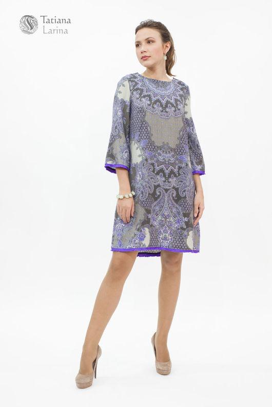 Нежное платье цвета лаванды на каждый день . Богатство цветовой палитры платья подчеркнет Вашу красоту и романтичность.