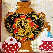 Куклы и игрушки ручной работы. Ярмарка Мастеров - ручная работа Самовар - развивающе-игровой сюжет.. Handmade.