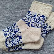 Работы для детей, handmade. Livemaster - original item Socks for teenagers.. Handmade.