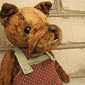 Куклы и игрушки ручной работы. Ярмарка Мастеров - ручная работа Собачка Филя ( 24 см). Handmade.