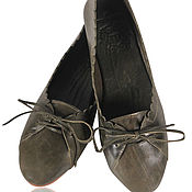 Обувь ручной работы. Ярмарка Мастеров - ручная работа Endless love. Балетки женские кожаные, для офиса, прогулок и дома. Handmade.