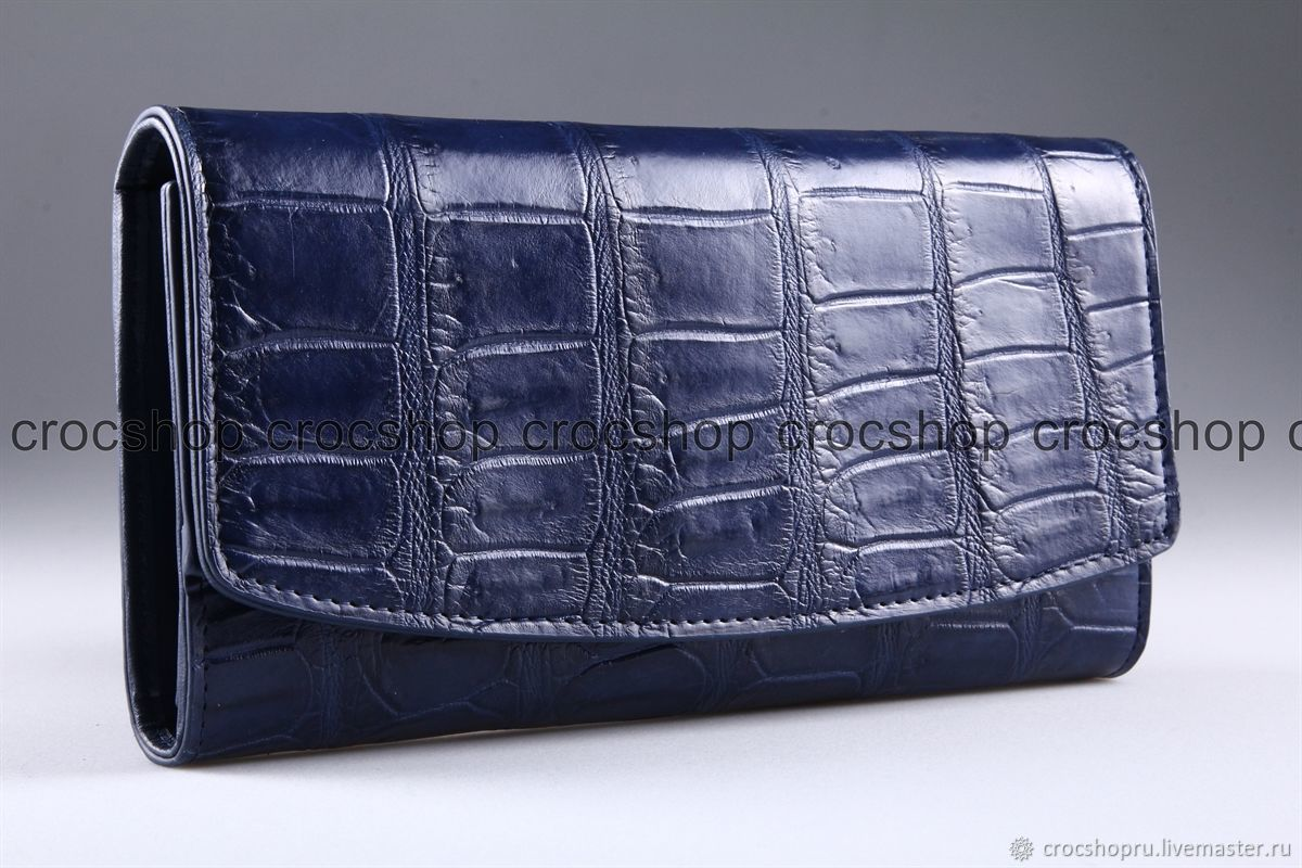 Wallet female crocodile leather IMA0004VC4, Wallets, Moscow,  Фото №1