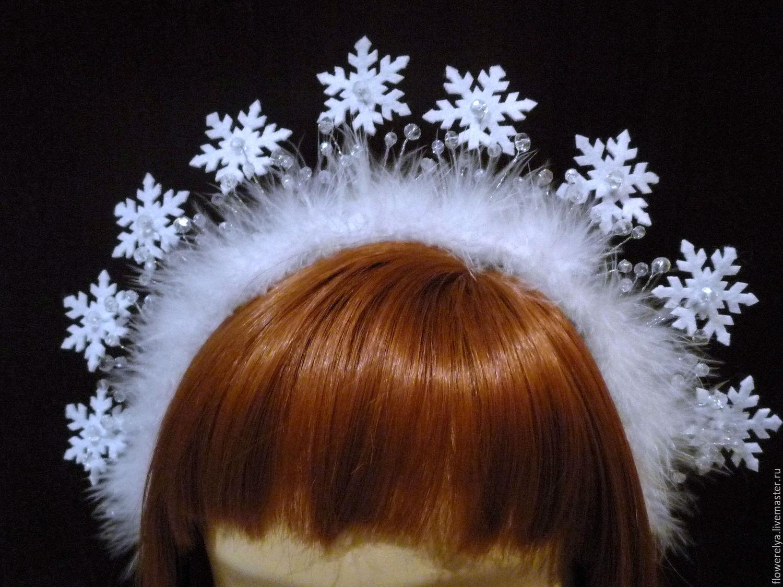 Корона для снежинки из снежинок своими руками 596