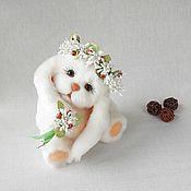 Куклы и игрушки handmade. Livemaster - original item Bunny Teddy Ray. Handmade.