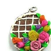 Украшения ручной работы. Ярмарка Мастеров - ручная работа сладкие розы. Handmade.