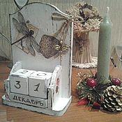 """Календари ручной работы. Ярмарка Мастеров - ручная работа Вечный календарь""""Стрекоза"""". Handmade."""
