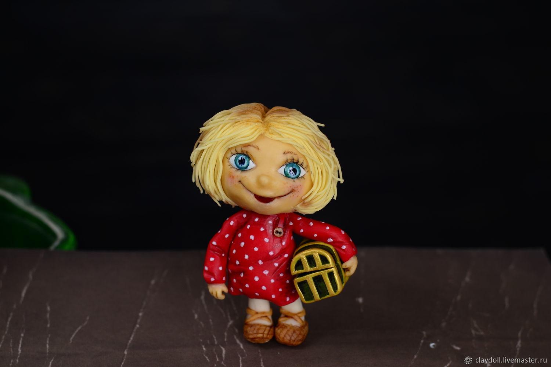 Домовенок Кузя. Кукла из полимерной глины, Куклы, Москва, Фото №1