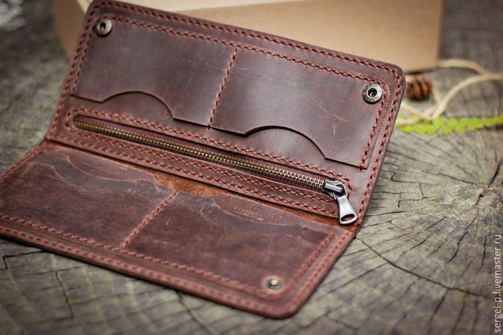 Кожаные портмоне своими руками фото 27