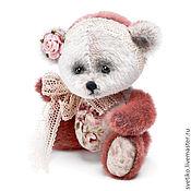 Куклы и игрушки ручной работы. Ярмарка Мастеров - ручная работа Мишка Розочка. Handmade.