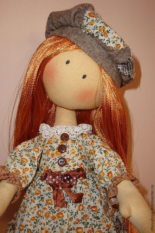 Коллекционные куклы ручной работы. Ярмарка Мастеров - ручная работа. Купить Текстильная кукла Софья. Handmade. Кукла ручной работы