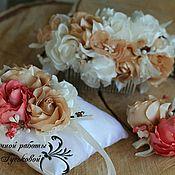 Свадебный салон ручной работы. Ярмарка Мастеров - ручная работа Комплект украшений для свадьбы. Handmade.
