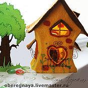"""Для дома и интерьера ручной работы. Ярмарка Мастеров - ручная работа Ночной светильник """"Сказочный домик2"""". Handmade."""
