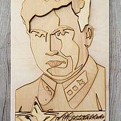 Картины и панно handmade. Livemaster - original item Three-dimensional portrait of