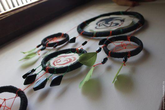 Подвески ручной работы. Ярмарка Мастеров - ручная работа. Купить Black Dragon. Handmade. Ловец снов, ловец снов оберег