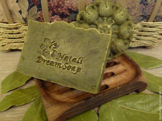 """Мыло-шампунь ручной работы. Ярмарка Мастеров - ручная работа. Купить Шампунь """"Лавр-волшебник """", натуральный, с нуля,твердый. Handmade."""