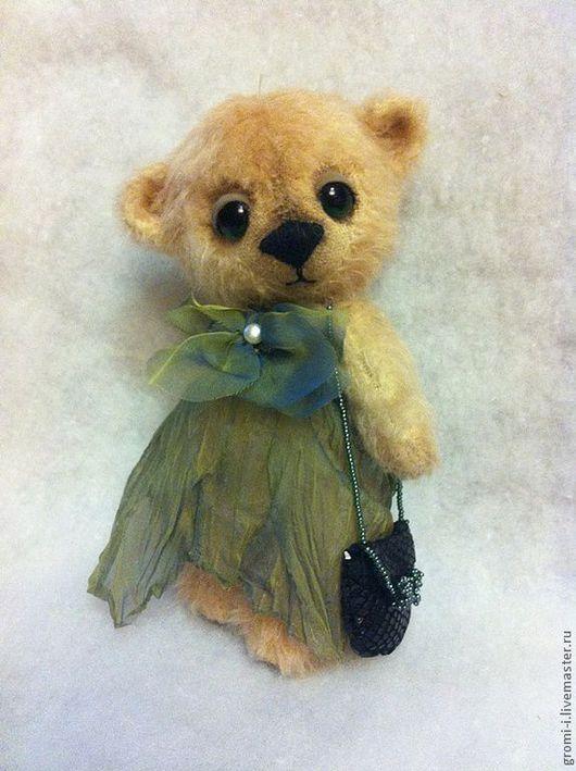 Мишки Тедди ручной работы. Ярмарка Мастеров - ручная работа. Купить Лилу. Handmade. Бежевый, мишка в подарок, тедди