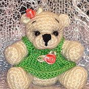 Куклы и игрушки ручной работы. Ярмарка Мастеров - ручная работа Мишка_Маришка. Handmade.