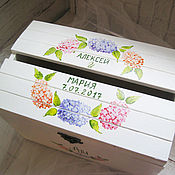 Свадебный салон ручной работы. Ярмарка Мастеров - ручная работа Hydrangea Wed - свадебная казна. Handmade.